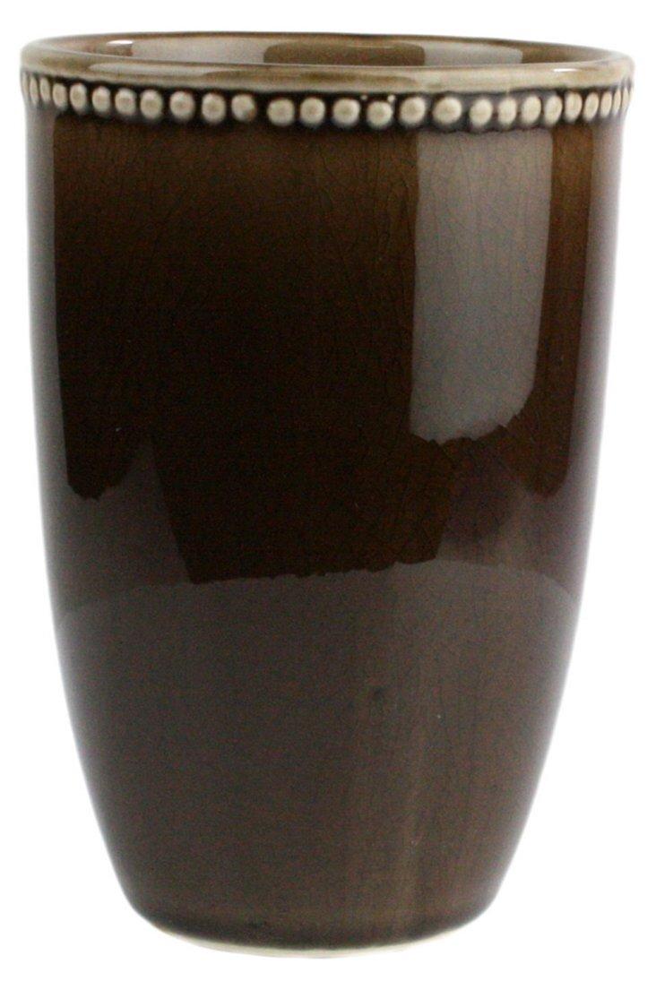 "5"" Parisian Vase, Mocha"