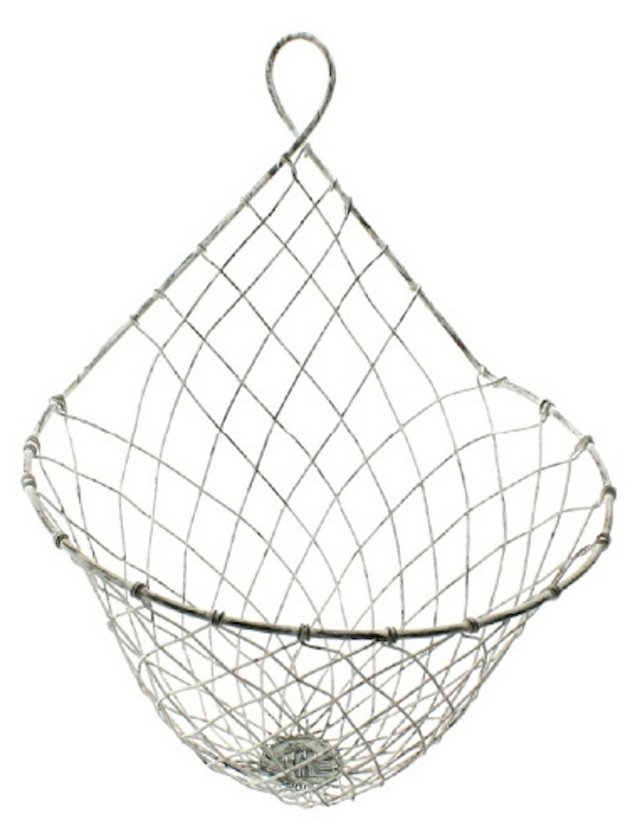 S/2 Otis Wire Wall Baskets, Large