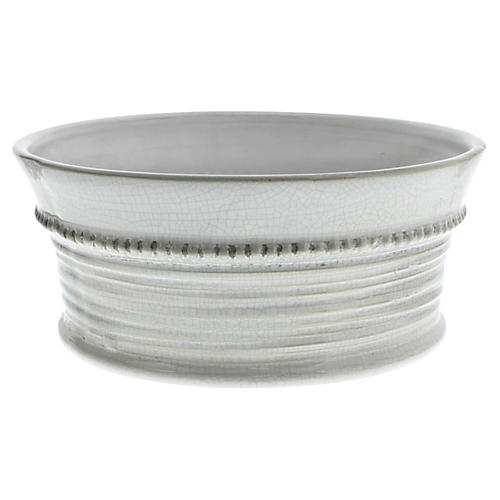 Porvence Ceramic Wide Cachepot, Large