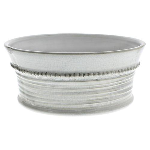 Porvence Ceramic Wide Cachepot, Large
