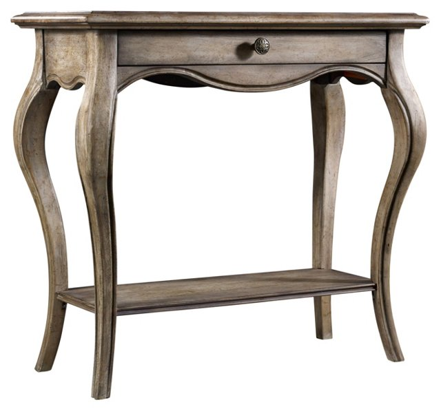 """Kylie 34"""" Console Table, Cashew"""
