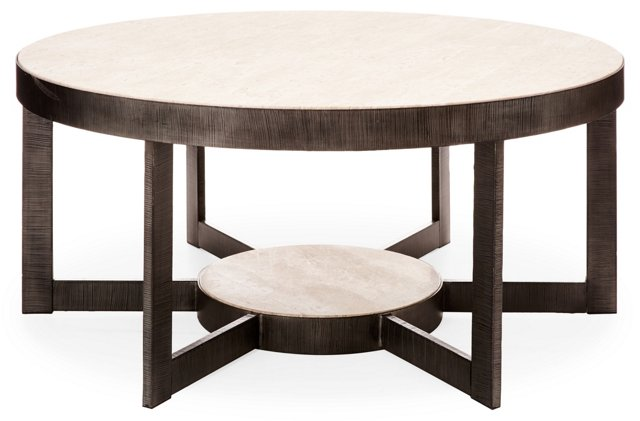 "Mill Valley 44"" Coffee Table, Gray"