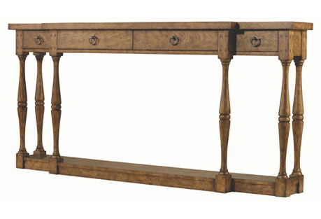"""Reese 72"""" Console Table, Driftwood*"""