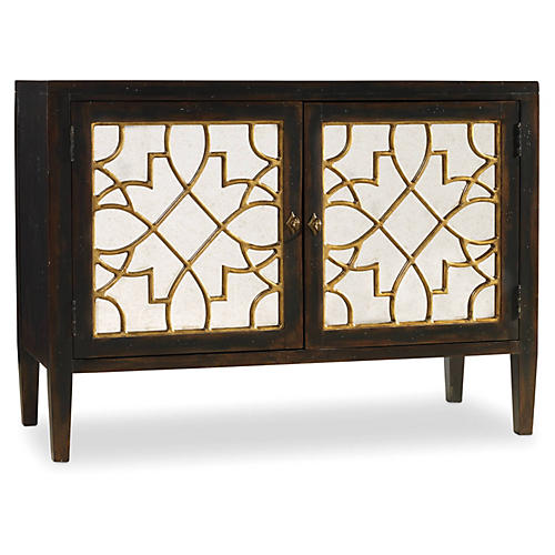 Sayer 2-Door Mirrored Sideboard