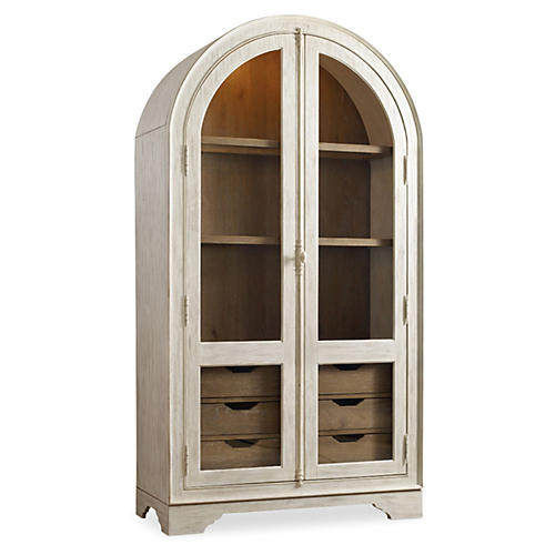 "Granada 85"" Display Cabinet, Natural"