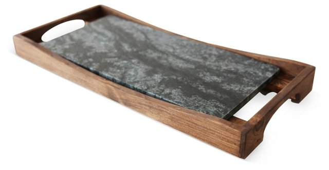 Oven-to-Table Soapstone Platter & Tray