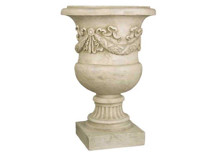 """24"""" Giardino Urn, Antique Stone"""