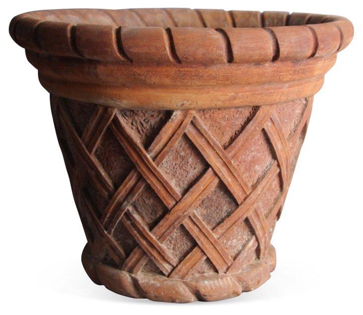 """16"""" Basket Weave, Sandstone"""