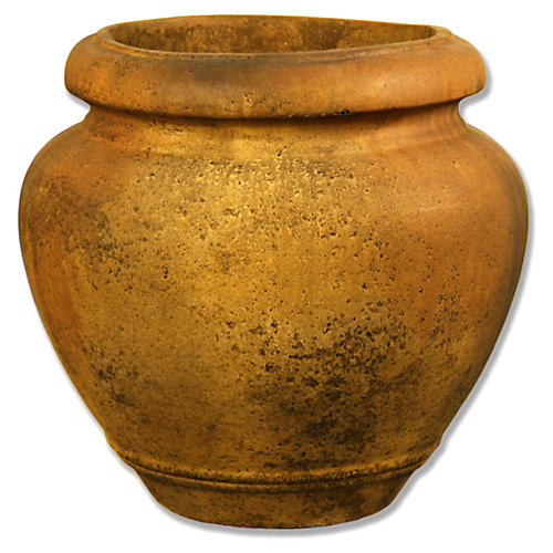 "20"" Oil Jar, Sandstone"
