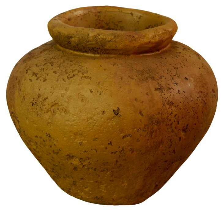 "11"" Ancient Jar, Sandstone"