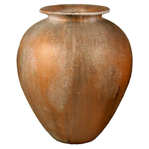 """30"""" Hubbard Oil Jar, Autumn Rose"""