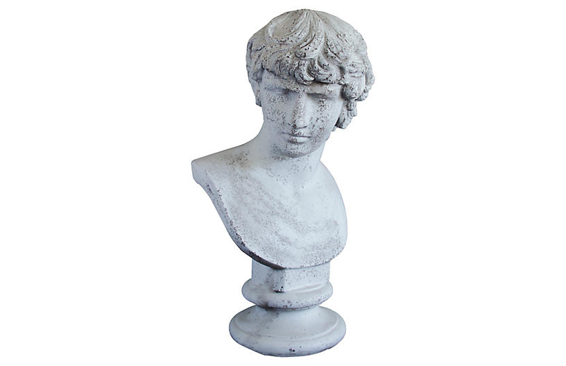 Antinous Bust, Cathedral White