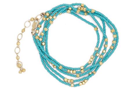 Turquoise Wrap Bracelet/Necklace