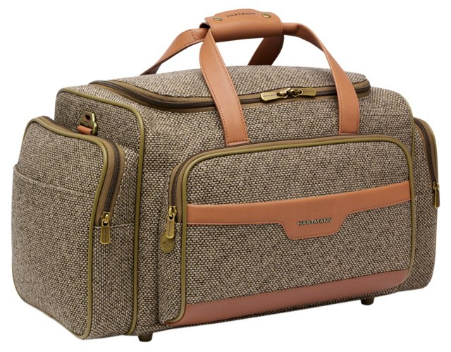 "21"" Carry-On Duffel, Walnut Tweed"