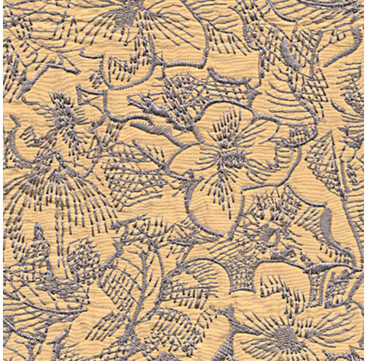 Sketchpad Fabric, Dogwood