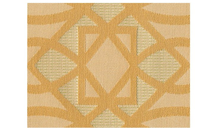Trellis Fabric, Balsa Wood