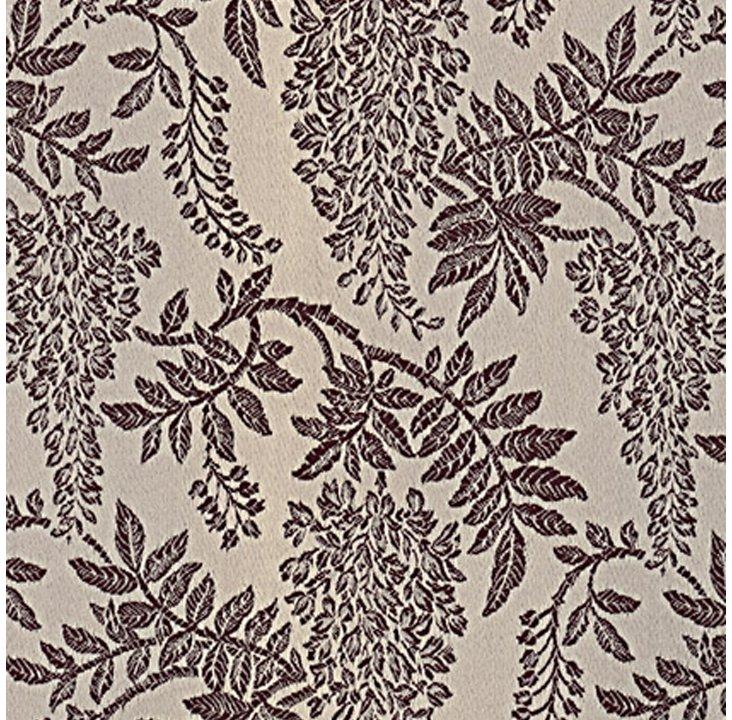 Wisteria Fabric, Ink