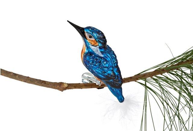 "5"" Icebird Ornament, Blue"
