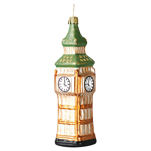 "6.5"" Big Ben Ornament"