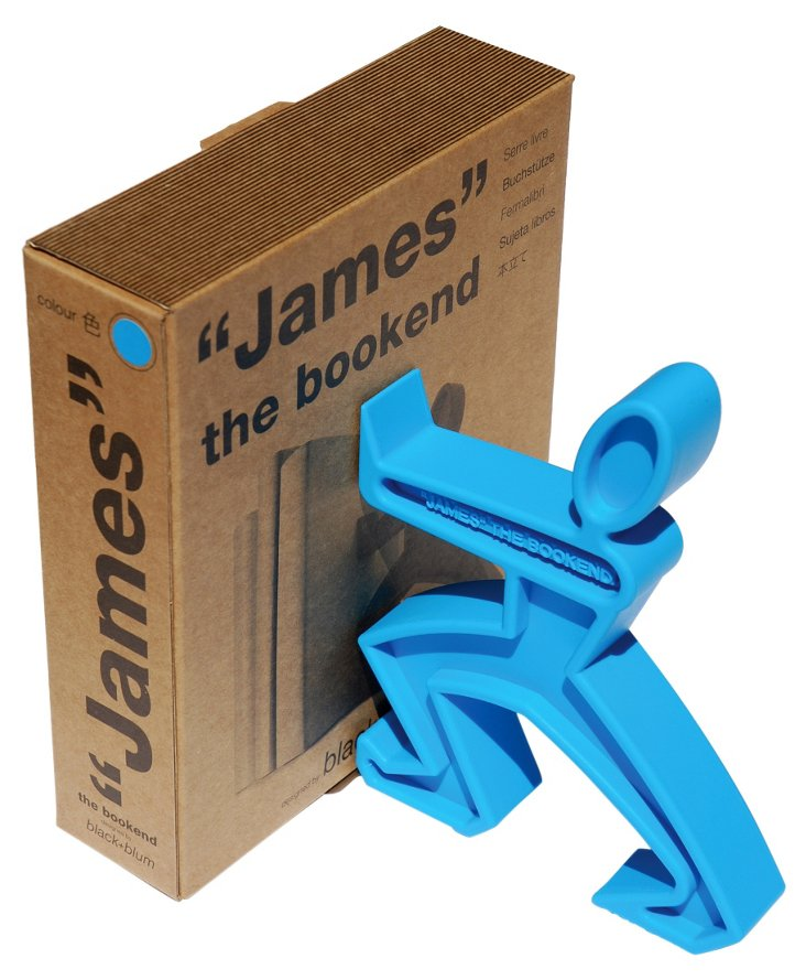 James the Bookend, Blue