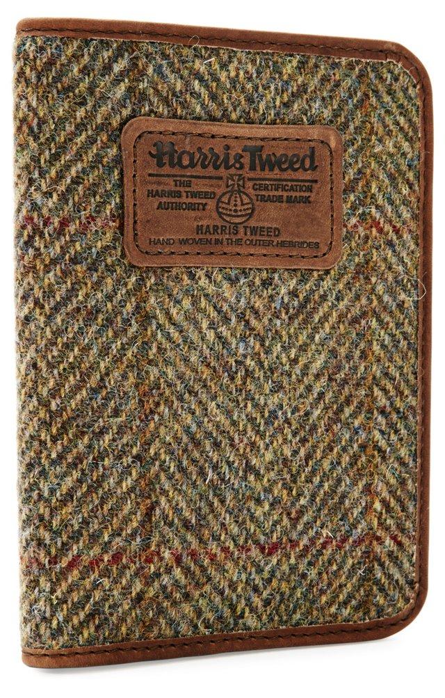 Harris Tweed Passport, Tan