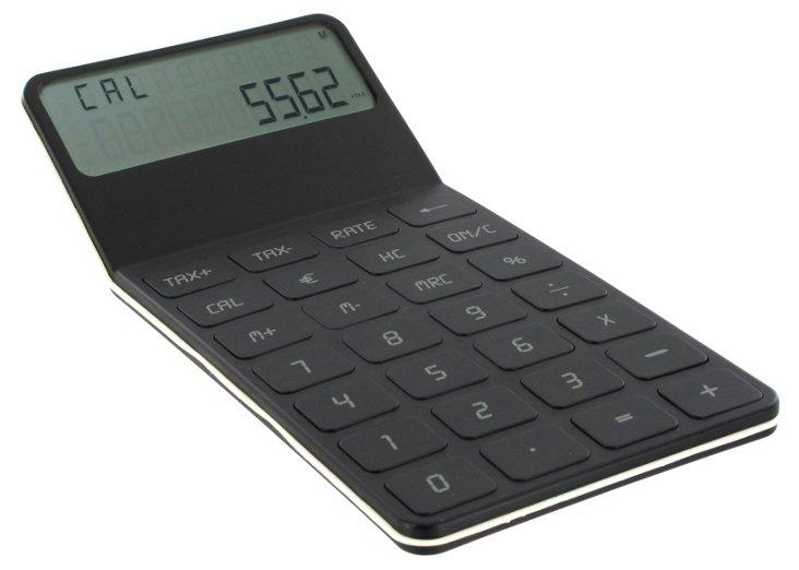 Desktop Calculator, Black