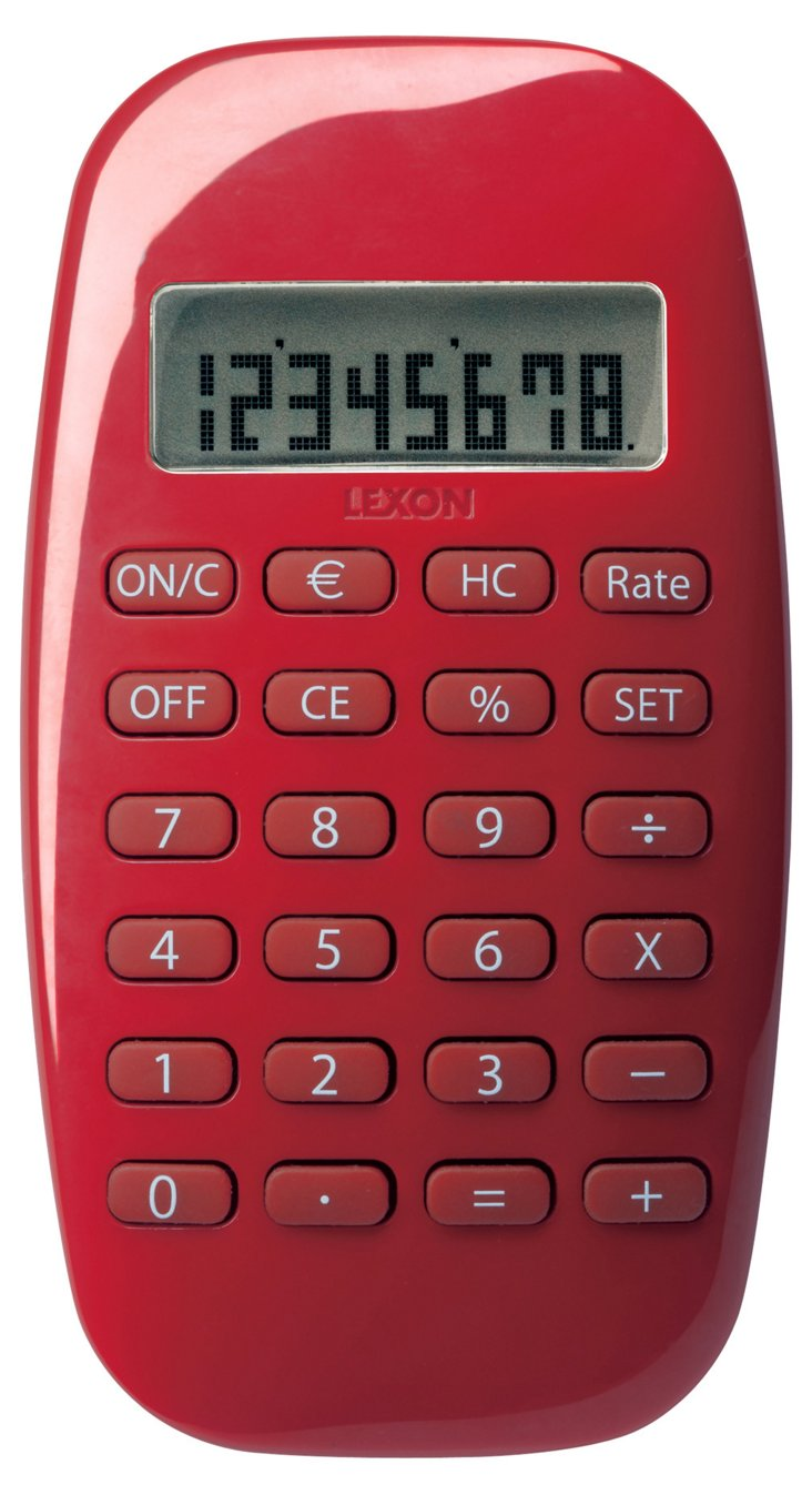 S/2 Galaxy Calculators, Red