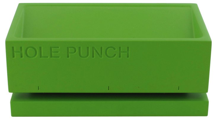 Hole Puncher, Green