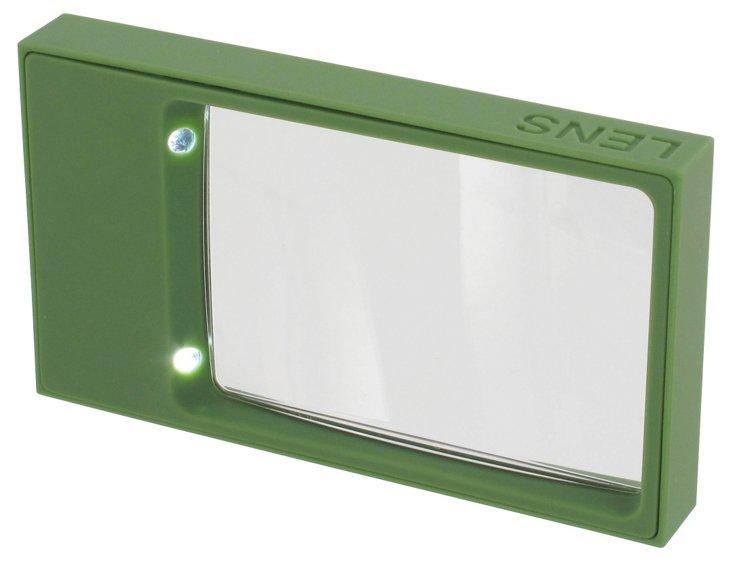 LED Lens Magnifier, Green