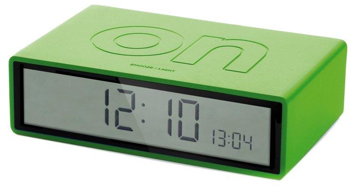 Flip On/Off Clock, Lime