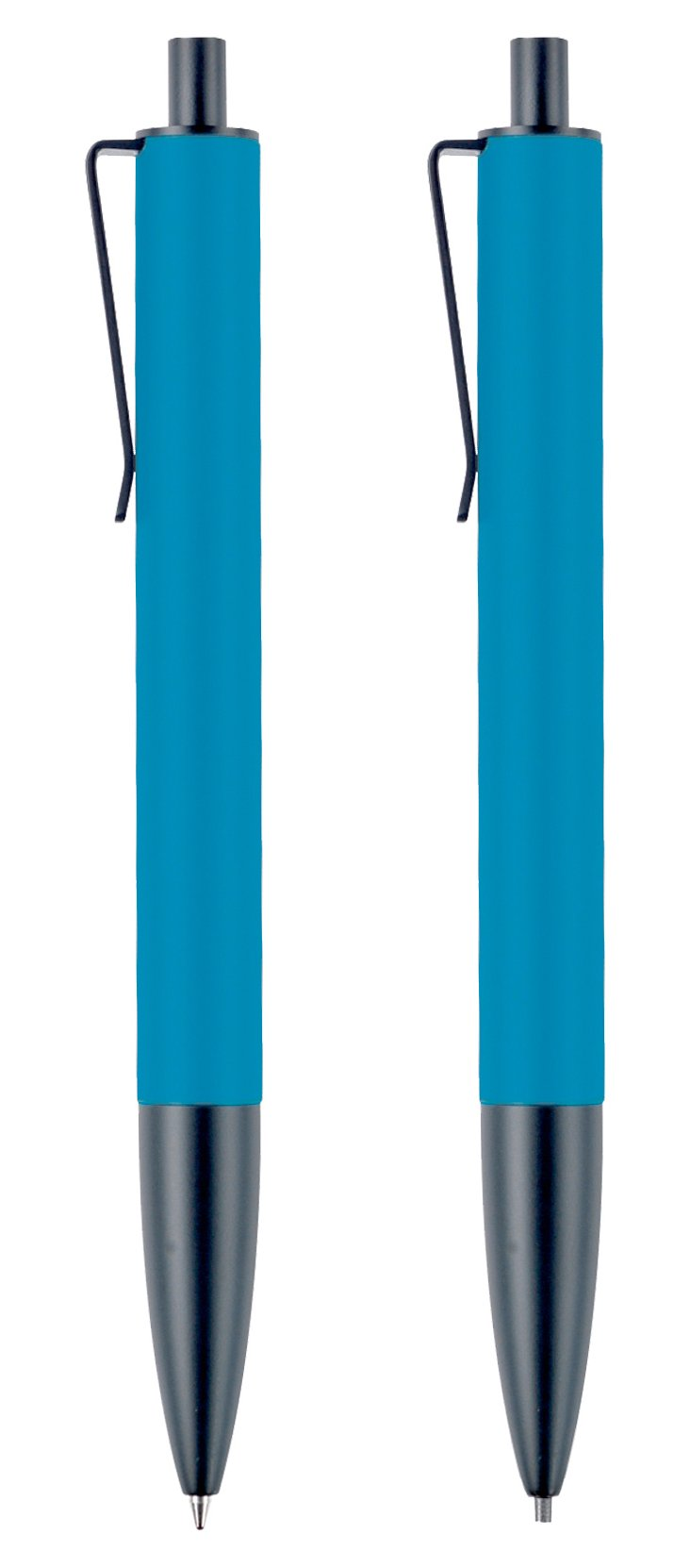 Ball Point Pen & Mechanical Pencil, Blue