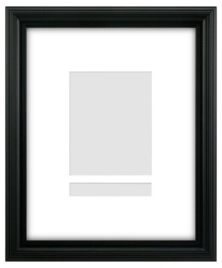 Center Frame, 8x10, Black