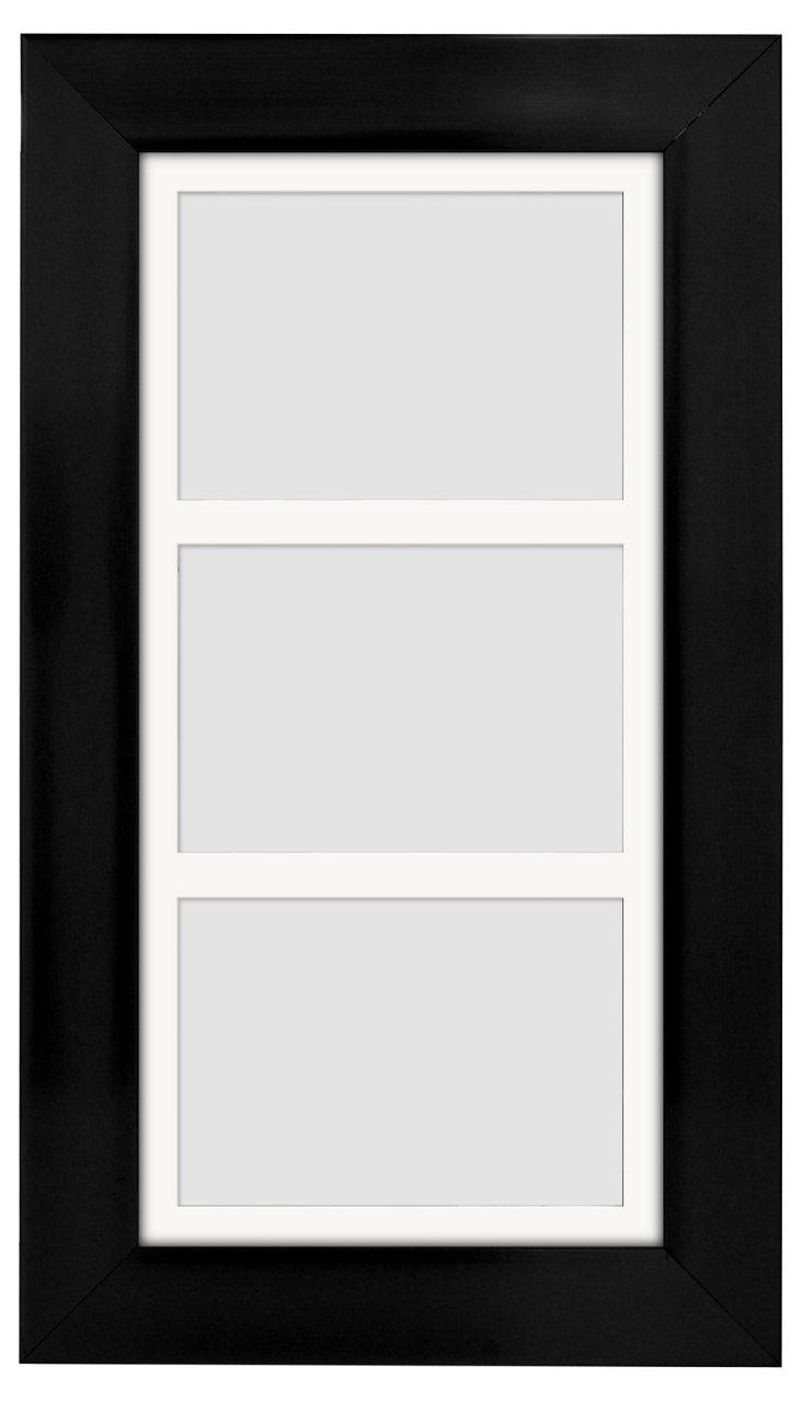 Triple Frame, 5x7, Black