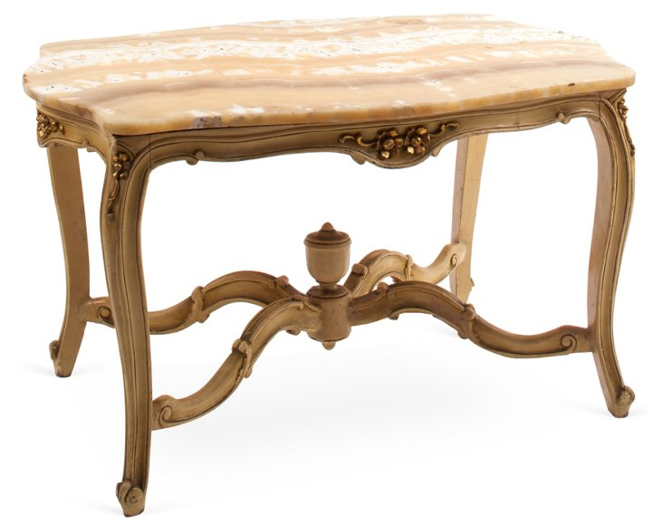 Swedish Marble-Top Table