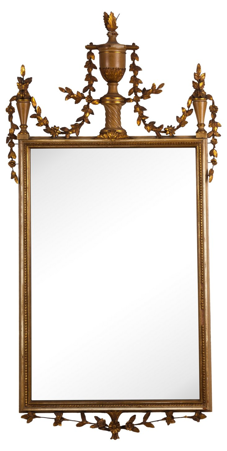French-Style Gold Mirror