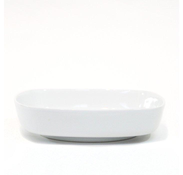 S/4 Karo Pasta Bowls, White