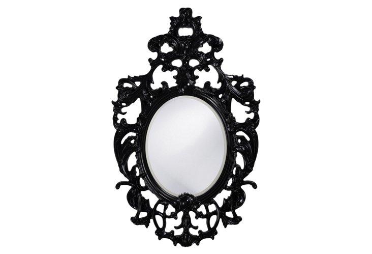 Dorsiere Mirror, Black