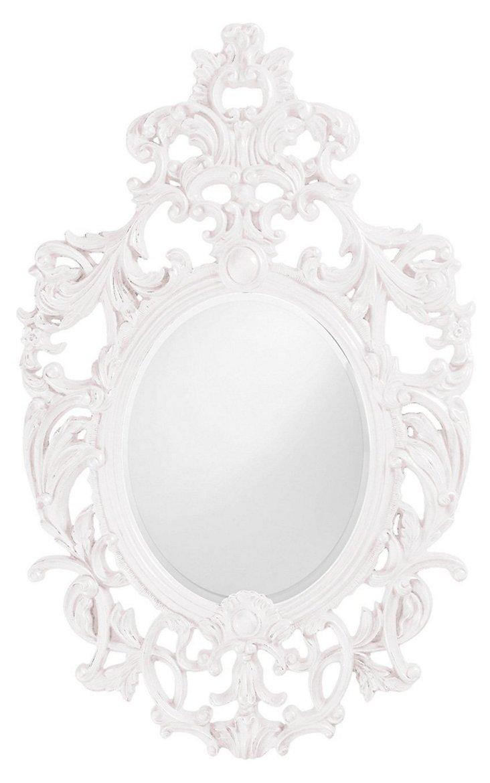 Dorsiere Wall Mirror, White