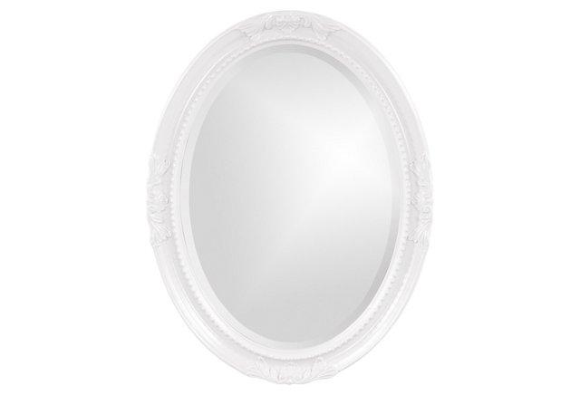 Elizabeth Mirror, White