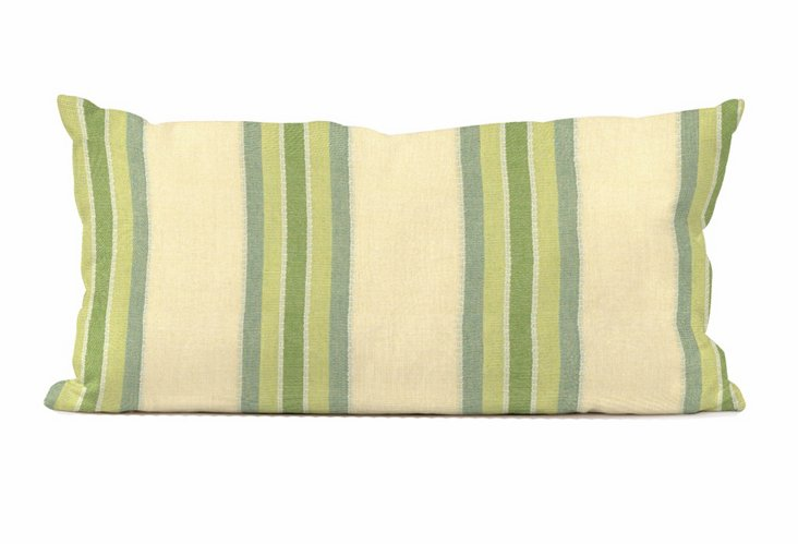 "Patio Pillow 11""x22"", Baja Willow"