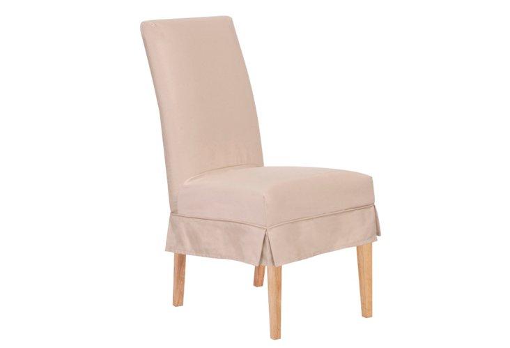 Parsons Patio Short Chair, Stone