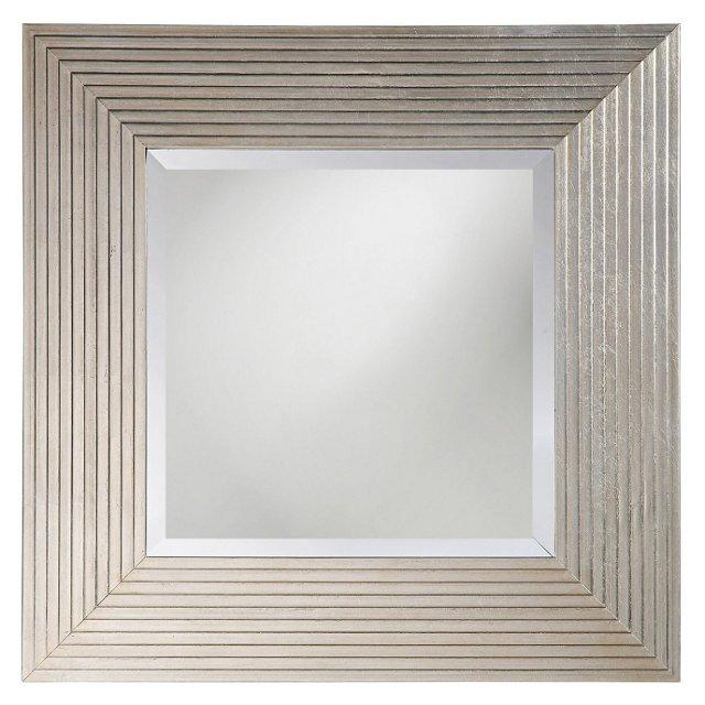 Atlanta Wall Mirror, Silver