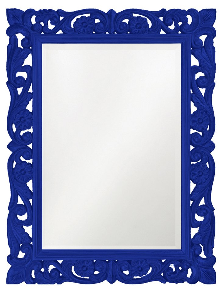 Chateau Mirror, Royal Blue