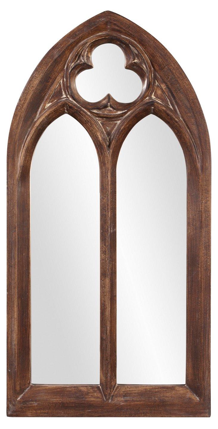 Basilica Oversize Mirror, Natural
