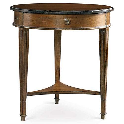 Continental II Round Lamp Table