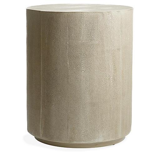 Shara Side Table, Ivory