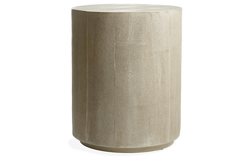 Shara Side Table, Ivory