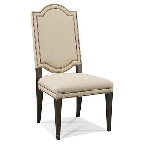 Linden Side Chair, Beige