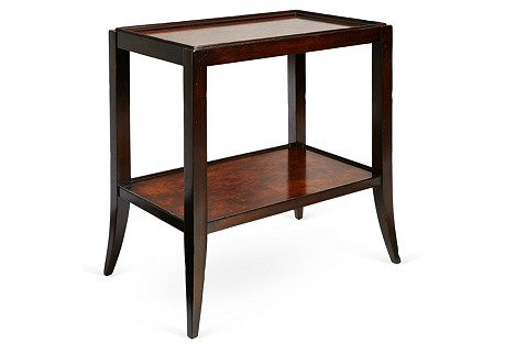 Perry Side Table, Pecan
