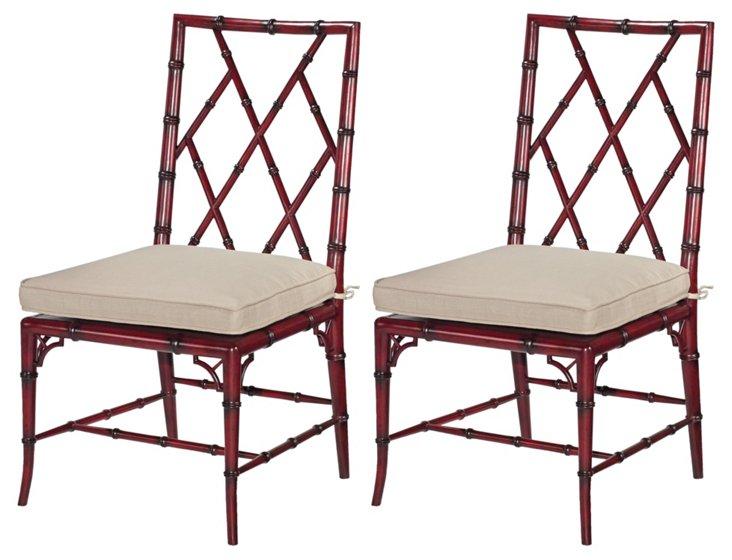 Dublin Side Chairs, Pair